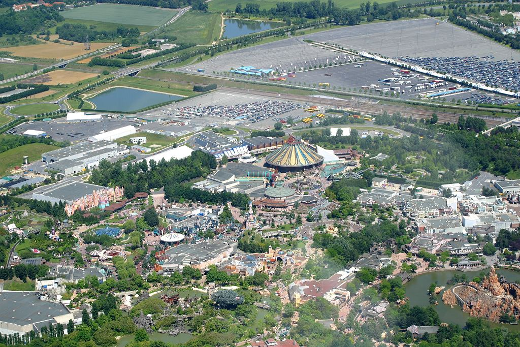 Disneyland® Paris vista dall'alto 445