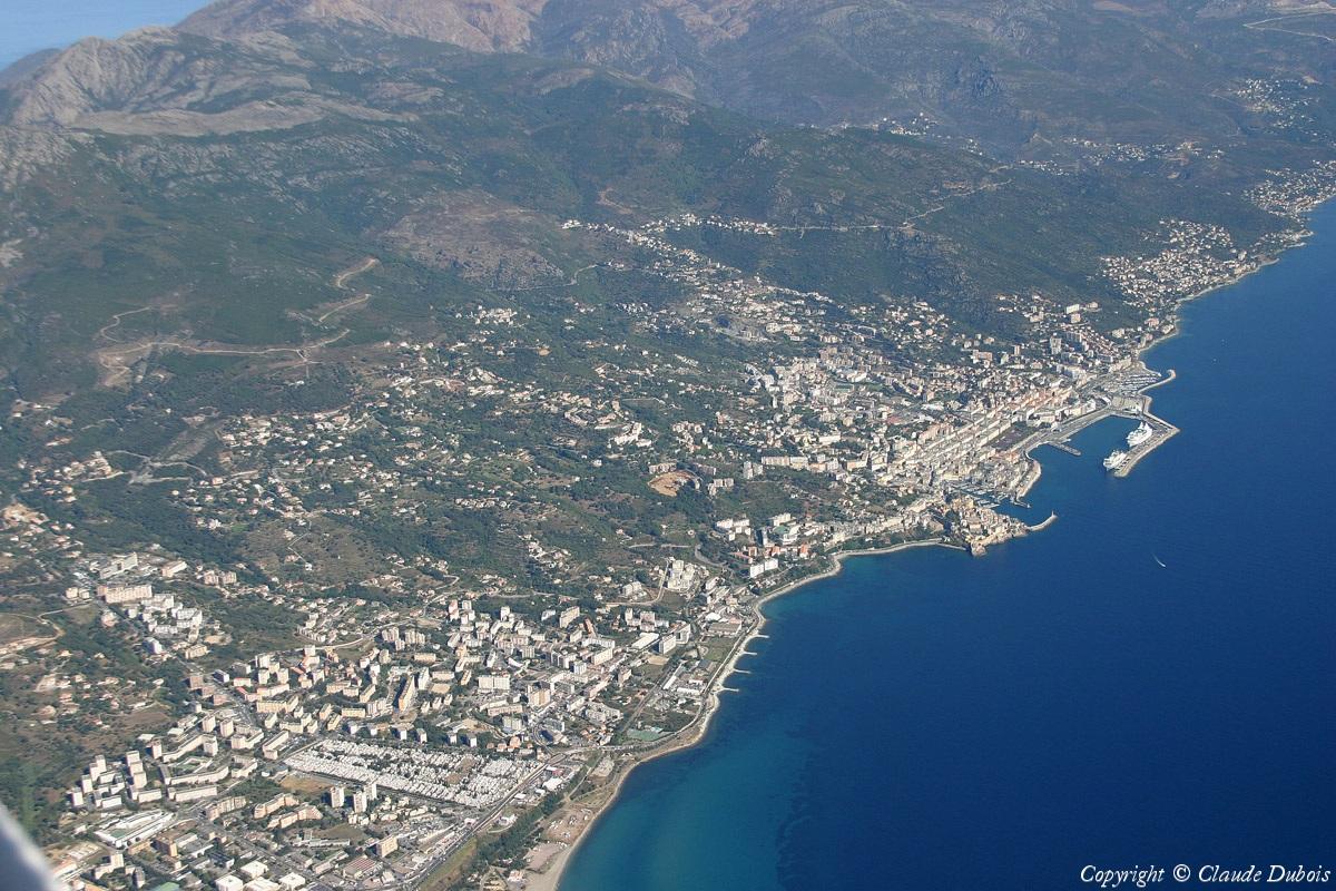 Photo a rienne de france la france vue du ciel survol - Office du tourisme bastia haute corse ...