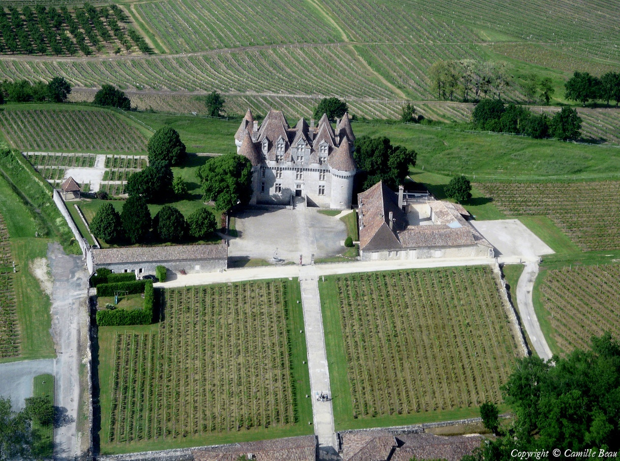 photo arienne de chteau de monbazillac dpartement dordogne 24 pays france - Chateau De Monbazillac Mariage