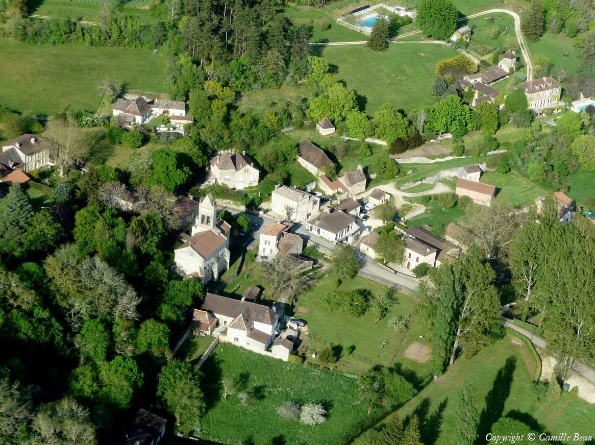 Saint-Marcel France  city pictures gallery : Photo aérienne de Saint Marcel du Périgord Dordogne 24