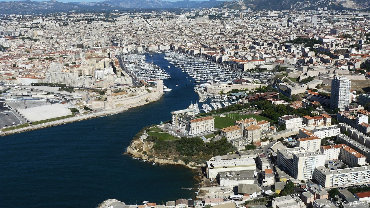 Photo a rienne de marseille bouches du rh ne 13 for Marseille bdr