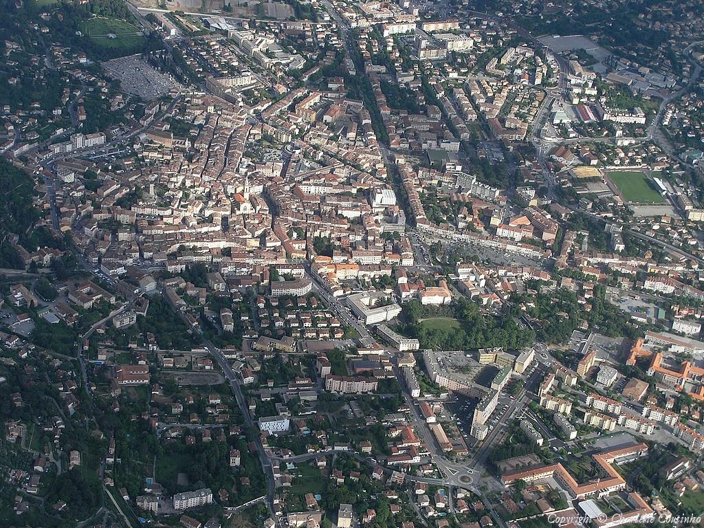 Photo aérienne de Draguignan