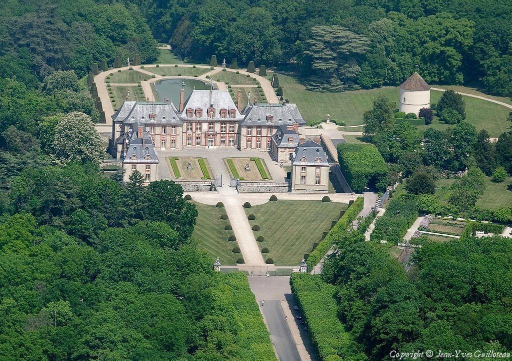 Photo a rienne de ch teau de breteuil yvelines 78 for Chateau yveline