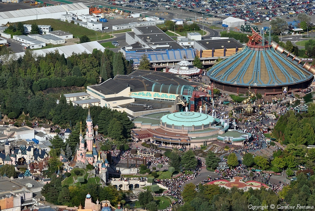 Disneyland® Paris vista dall'alto 29458
