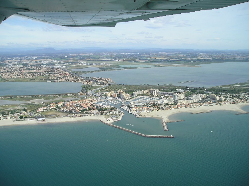 Carnon-Plage France  City new picture : Photo aérienne de Carnon Plage Hérault 34