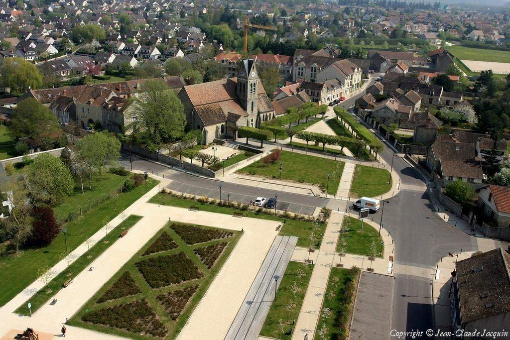 Photo aérienne de Vert-Saint-Denis - Seine-et-Marne (77)