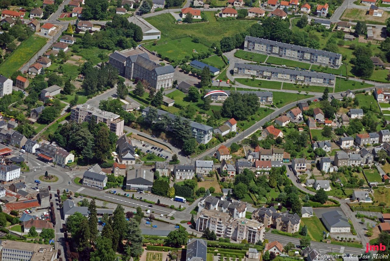 Gueret France  city images : Photo aérienne de Guéret Creuse 23