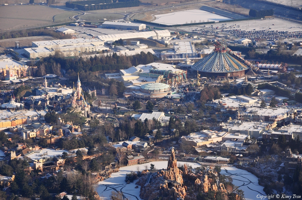 Disneyland® Paris vista dall'alto 36183