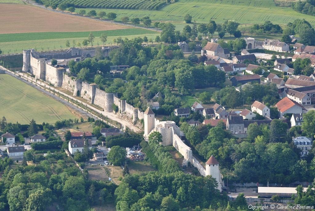Photo a rienne de provins seine et marne 77 - Office du tourisme seine et marne ...