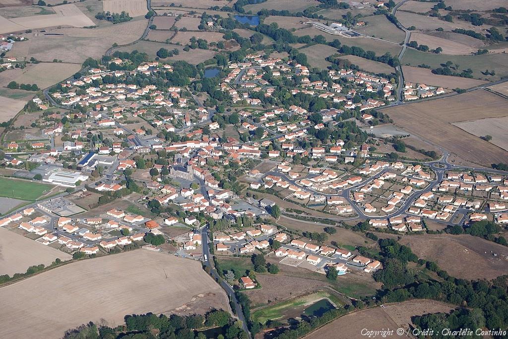Photo aérienne de SaintMalôduBois  Vendée (85) ~ St Malo Du Bois