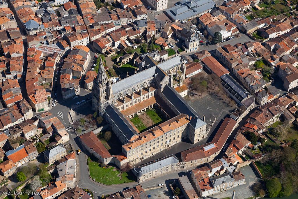 Saint-Maixent-l'Ecole France  city photos : Photo aérienne de Saint Maixent l'Ecole Deux Sèvres 79