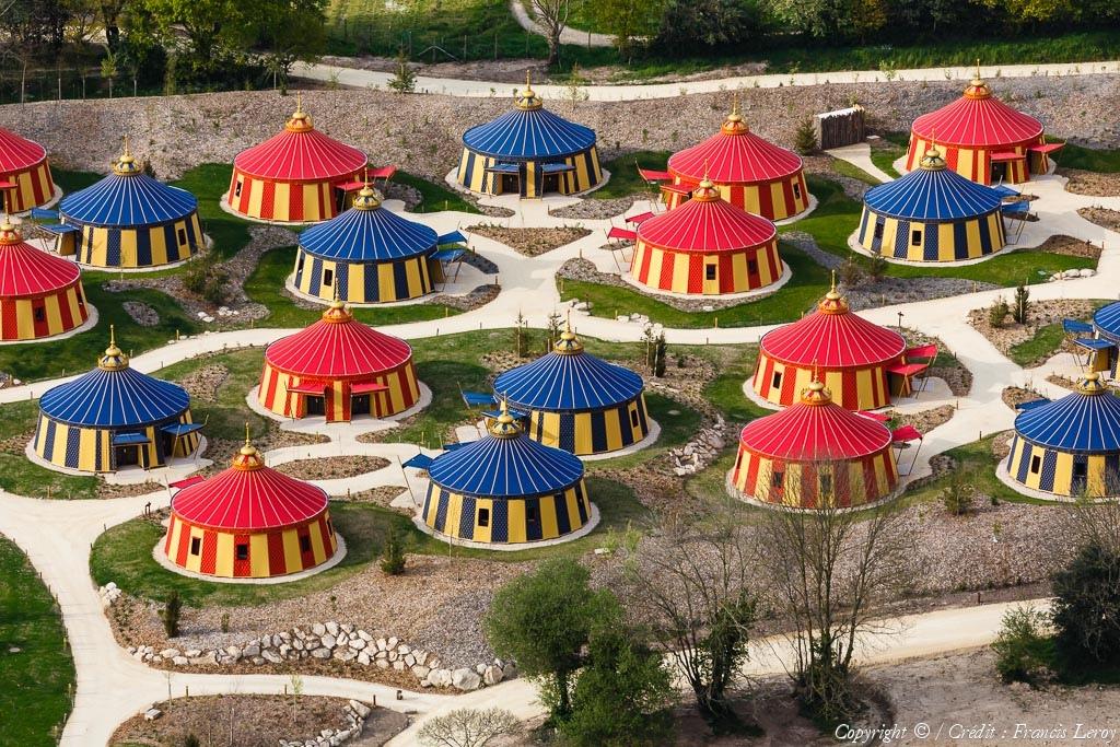 Photo aérienne de Parc du Puy du Fou - Vendée (85)