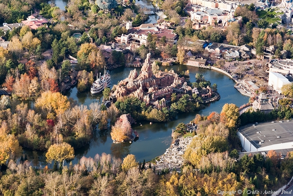 Disneyland® Paris vista dall'alto 48954