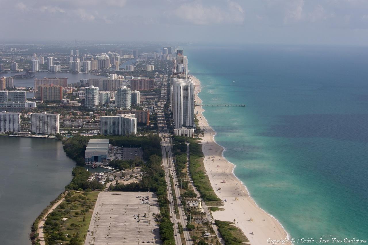 photo aérienne de miami beach - usa