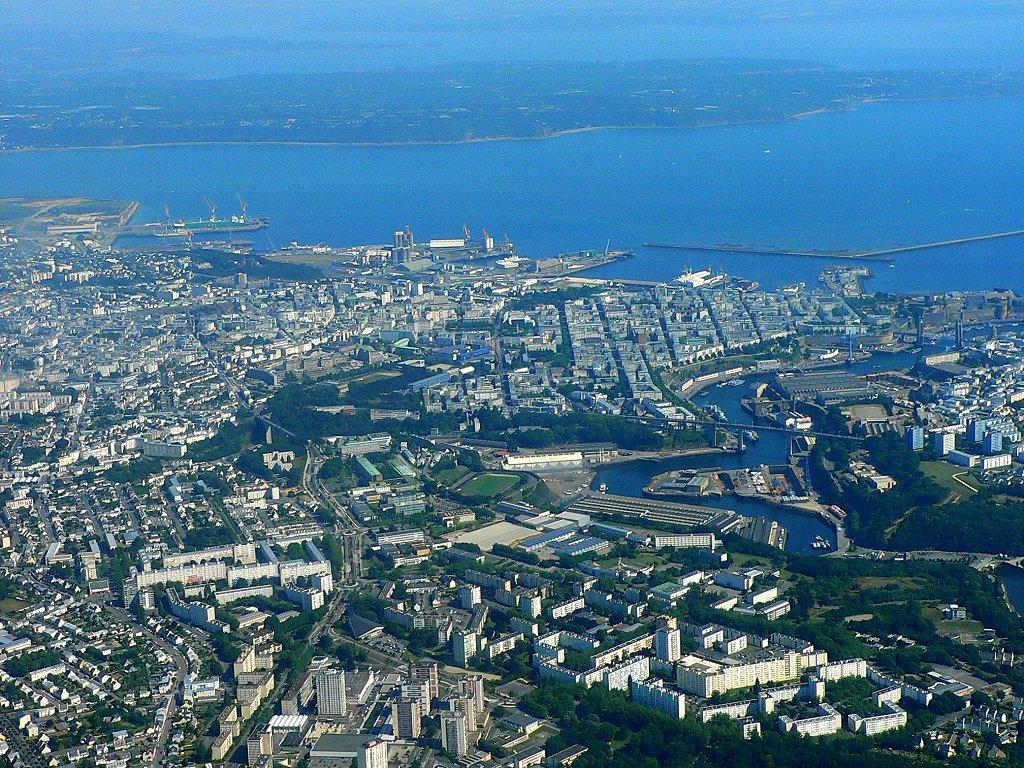 Brest Vue Du Ciel