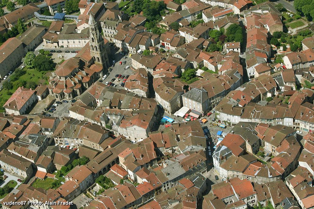 Saint Leonard De Noblat France  city photos gallery : Photo aérienne de Saint Léonard de Noblat Haute Vienne 87