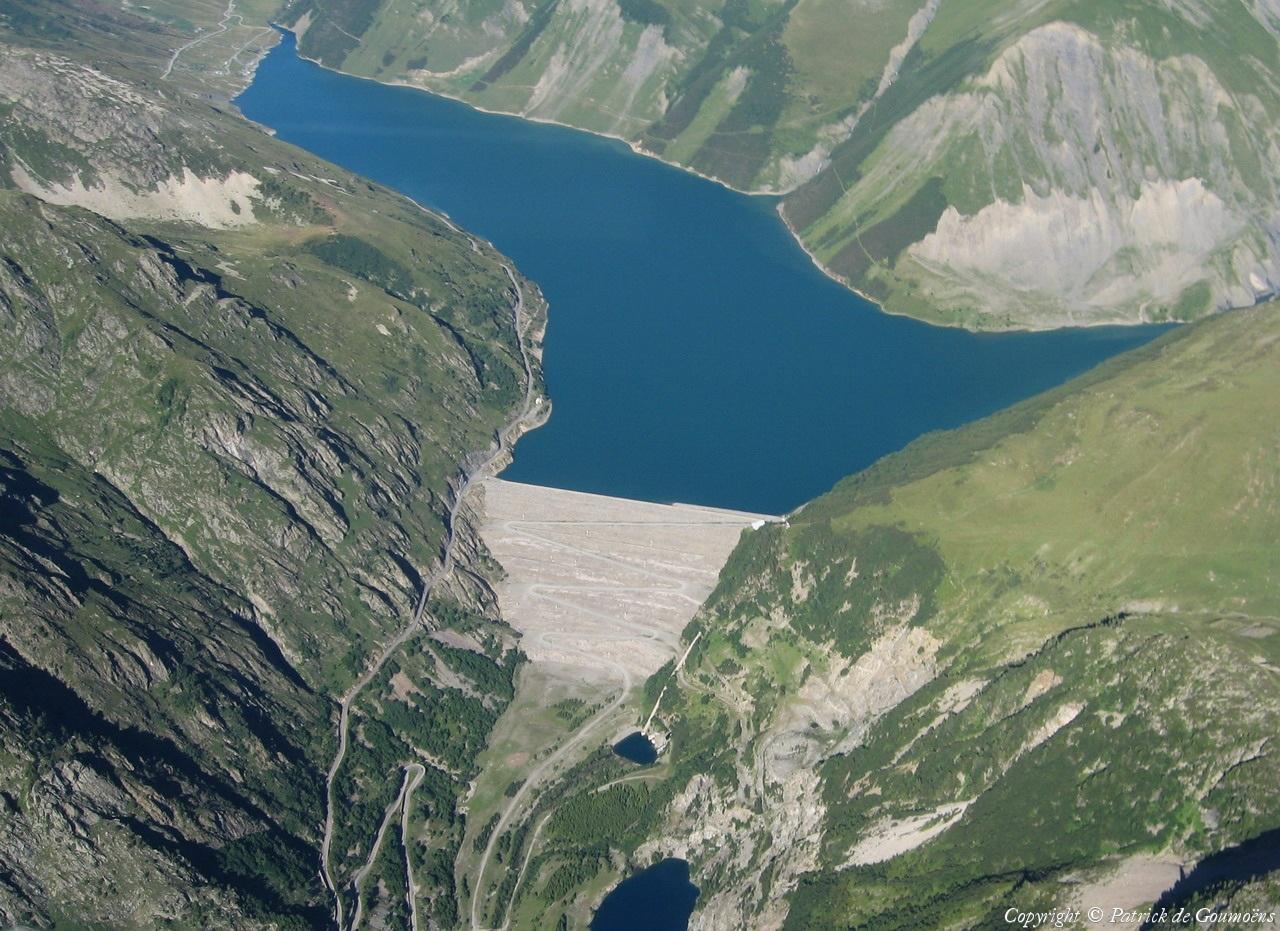 photo a 233 rienne de barrage de grand maison is 232 re 38